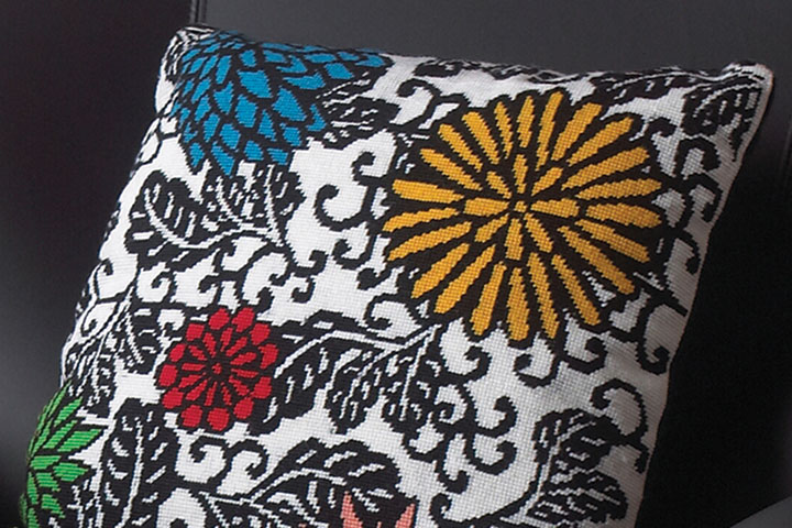 Anchor Tapestry Wool cushion